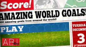 Game bola android terbaik Score! World Goals